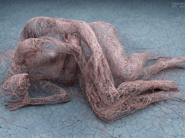 Adam Martinakis – Digital art – The remains of a memory