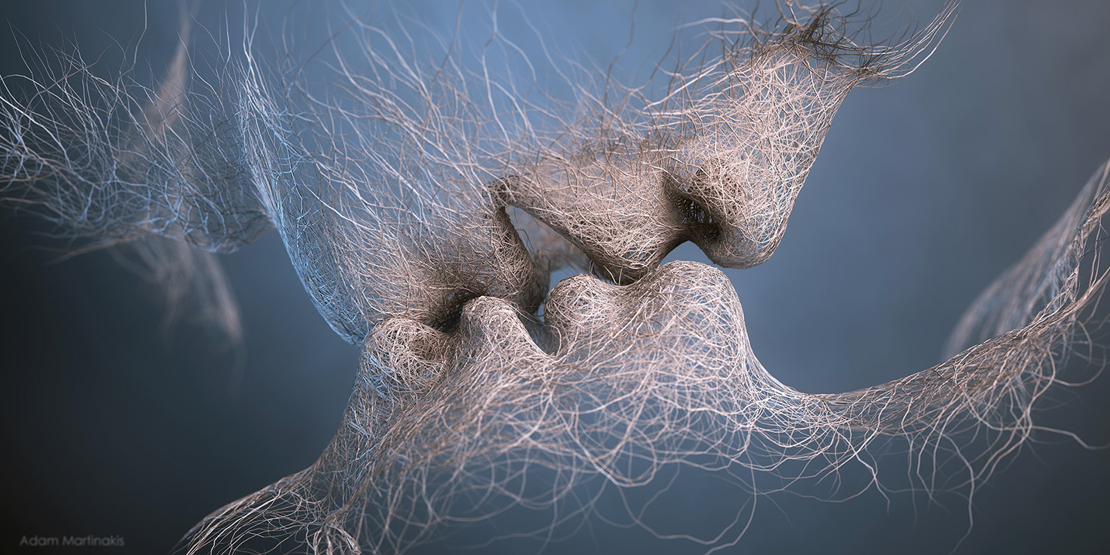 Adam Martinakis – Digital art – last kiss