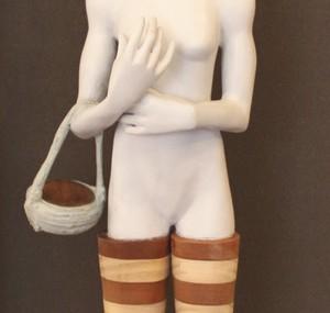 Cecilia Z. Miguez – A Basket Case Sculpture