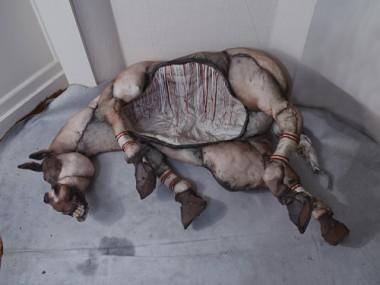 Eglantine Bacro – mixed-media artist – Nylon wire sculptures