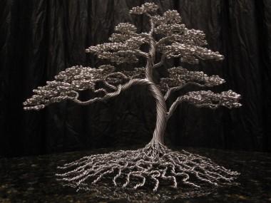 KaiTree – Tree metal sculptures – big ball of love