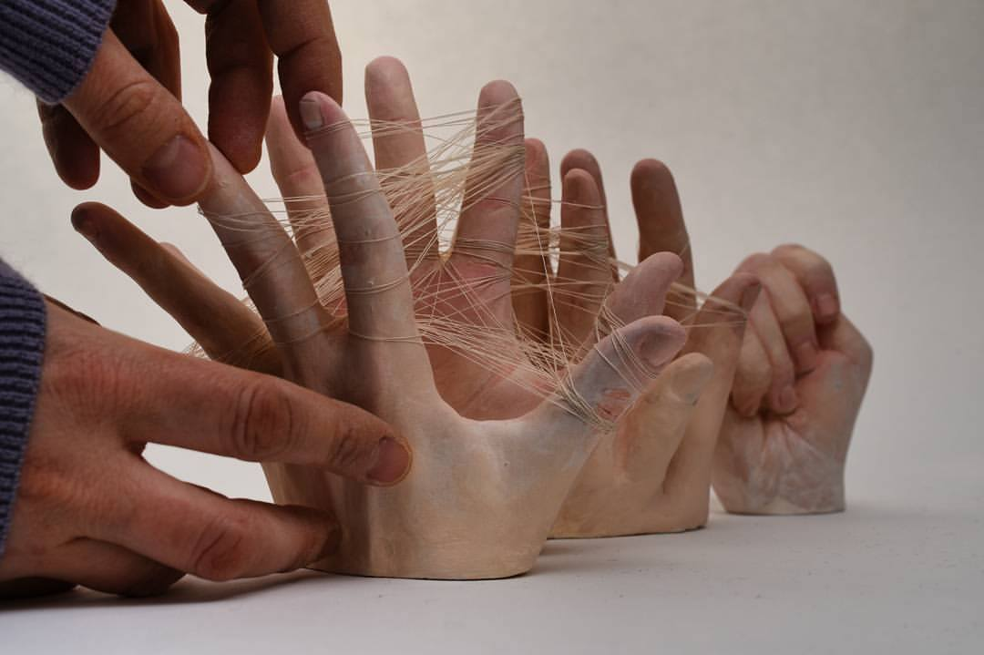 Ronit Baranga – Sculptures #ART #SCULPTURE #HANDS #RONITBARANGA #BARANGA