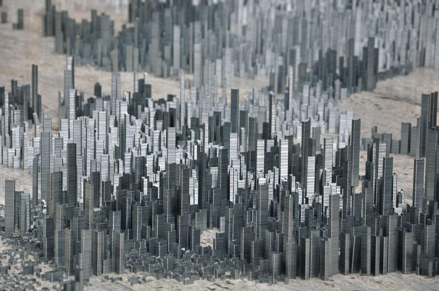 Peter Root – 100,000 staples installation