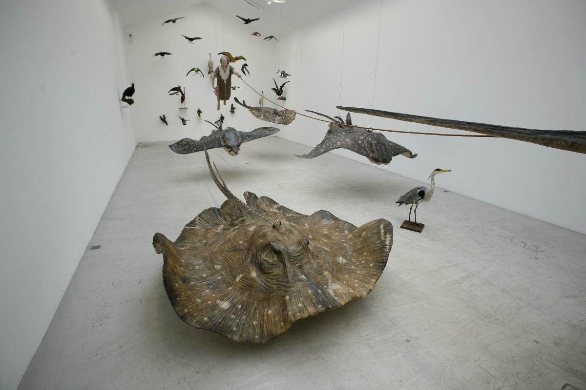 Sun Yuan Peng Yu Sculptures