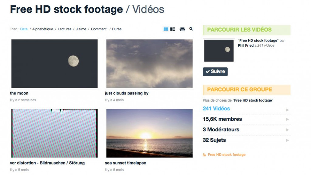 Free HD stock video vimeo