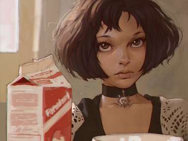 Ilya Kuvshinov – digital illustration