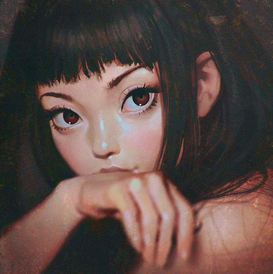 Ilya Kuvshinov – digital illustration