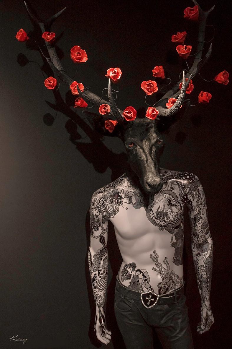 Pierre Sgamma – sculptures – le prince noir
