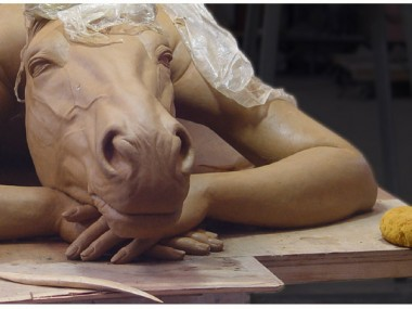 Sihua Qian – sculptures XiangMa series details