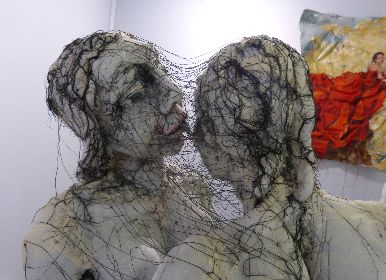 Anne Bothuon – Sculpture Textile art