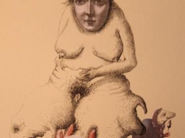 Chimeres inspirees de Helene LAGNIEU – dessin