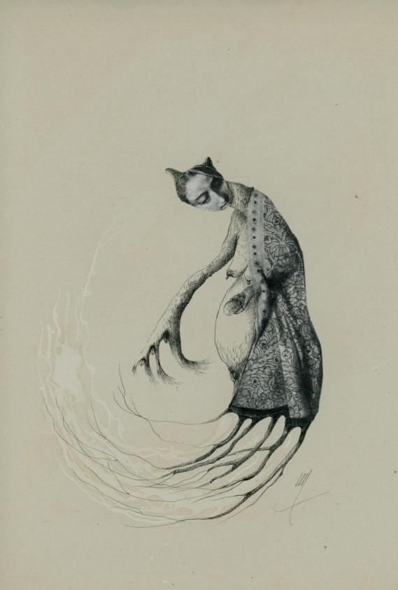 Chimeres inspirees de Helene LAGNIEU – dessins