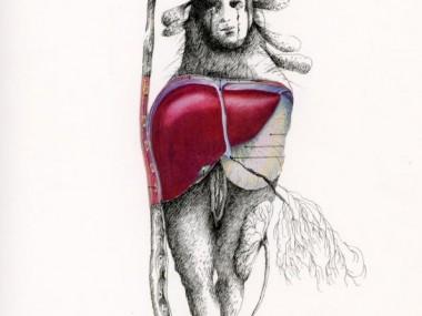 Chimeres inspirees de Helene LAGNIEU – dessins, peintures