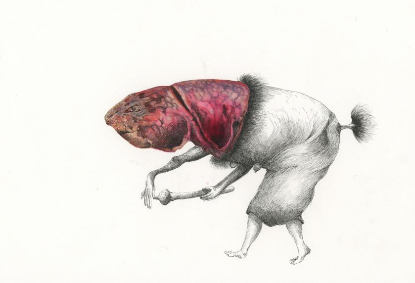 Chimeres inspirees de Helene LAGNIEU - dessins, peintures, sculptures