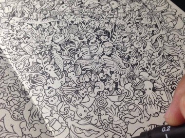 Kerby Rosanes – Sketchy stories illustration