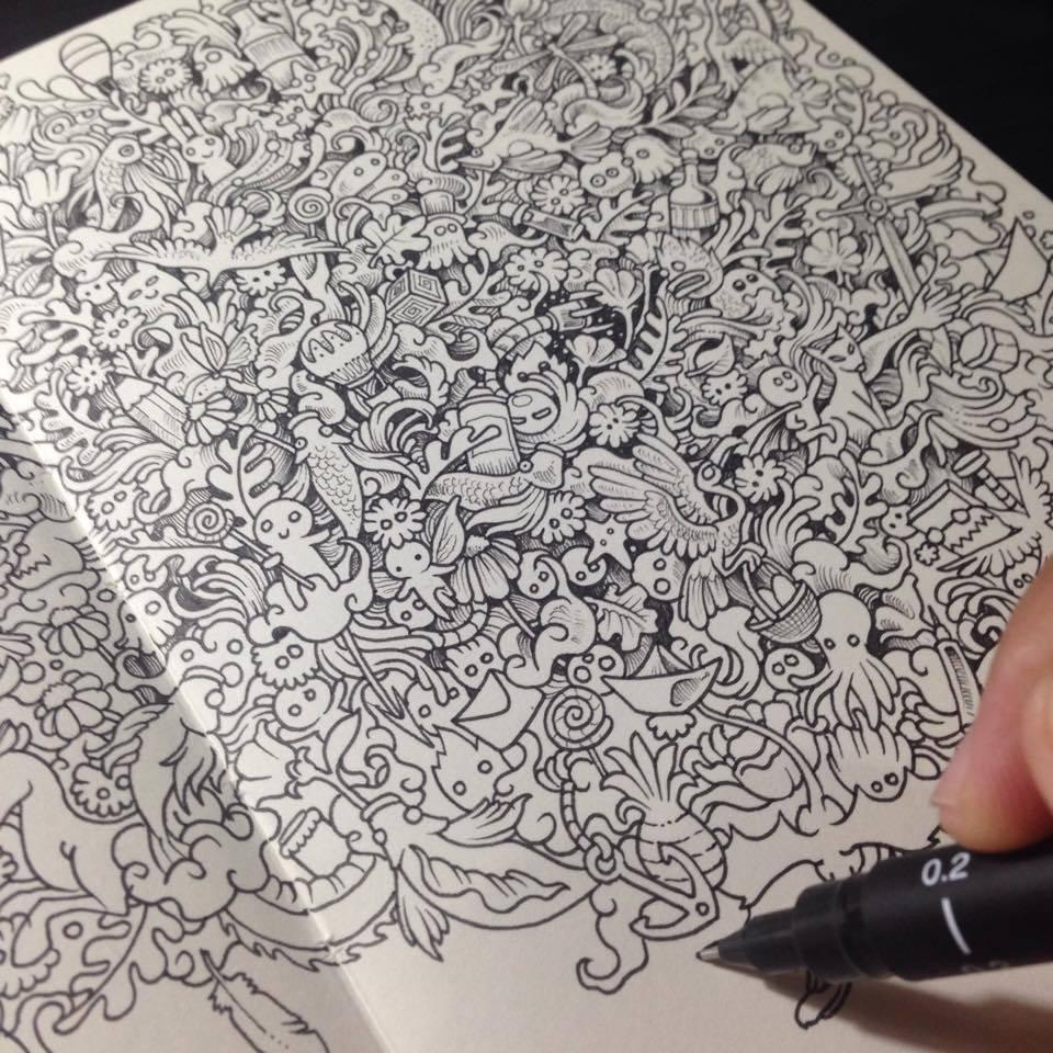 Kerby Rosanes – Sketchy stories illustration