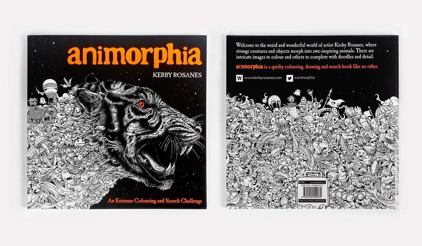 Kerby Rosanes – Sketchy stories illustration tiger coverbook