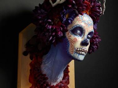 Krisztianna Ortiz – Momma Muertita – Trophee sculpture