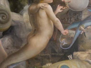 Quim Hereu – Sea centaurs – Oil on canvas