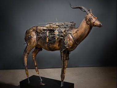 Ron Pippin – sculptures – Antelope