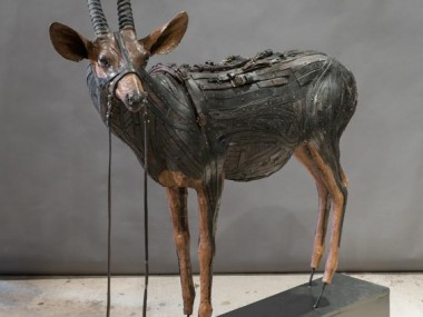 Ron Pippin – sculptures – African Antelope