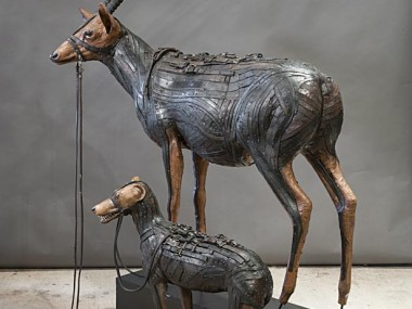 Ron Pippin – sculptures – Antelope