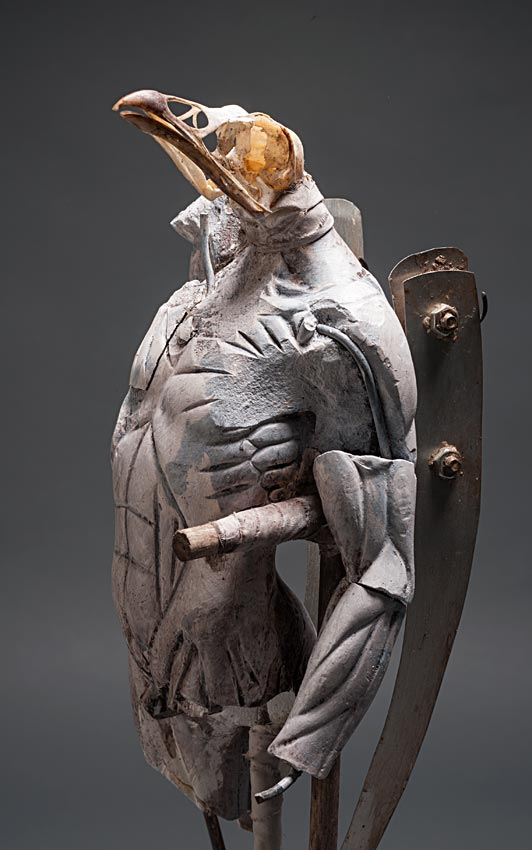 Ron Pippin – sculptures – birdman