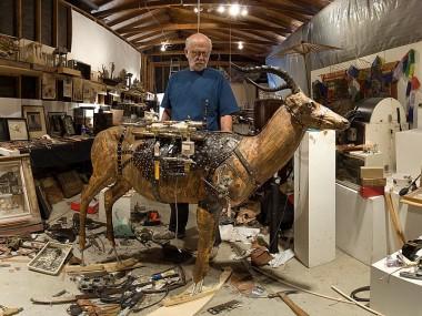 Ron Pippin – sculptures – portrait