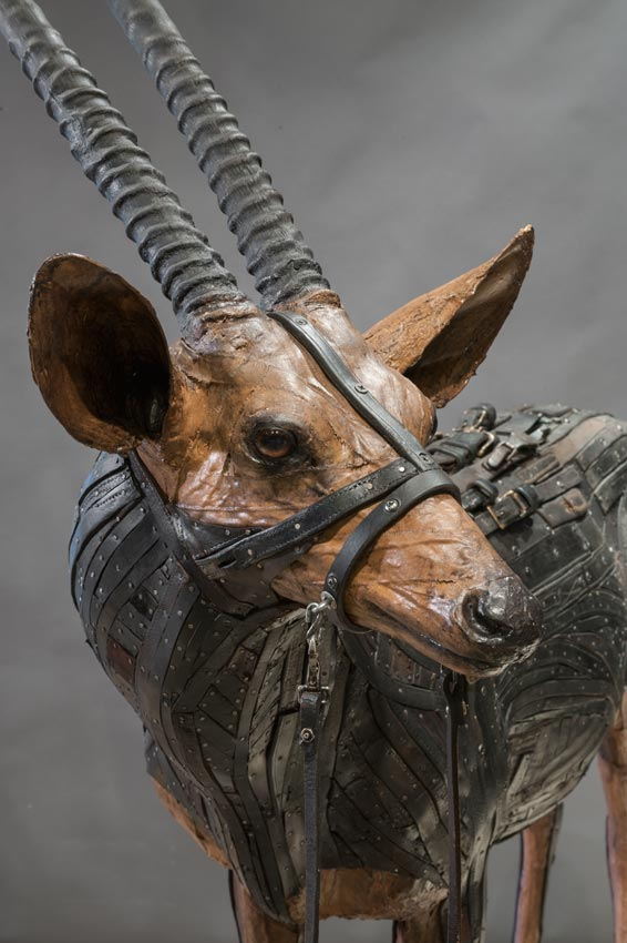 Ron Pippin - sculptures - African Antelope head