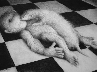 Victor Soren – dessins – l'amour contre-nature