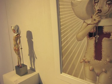 Miura Etsuko – Sculptures Dolls (photo : lil miss sticky kiss)