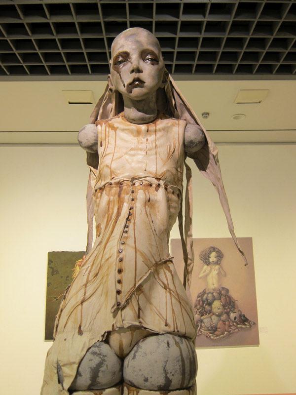 "Miura Etsuko - Sculptures ""réincarnation"""