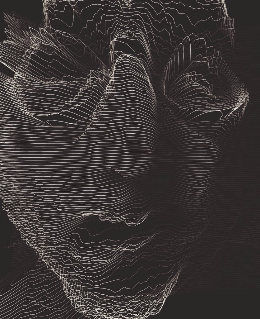 Alexandre Perotto  – Digital work Black and line