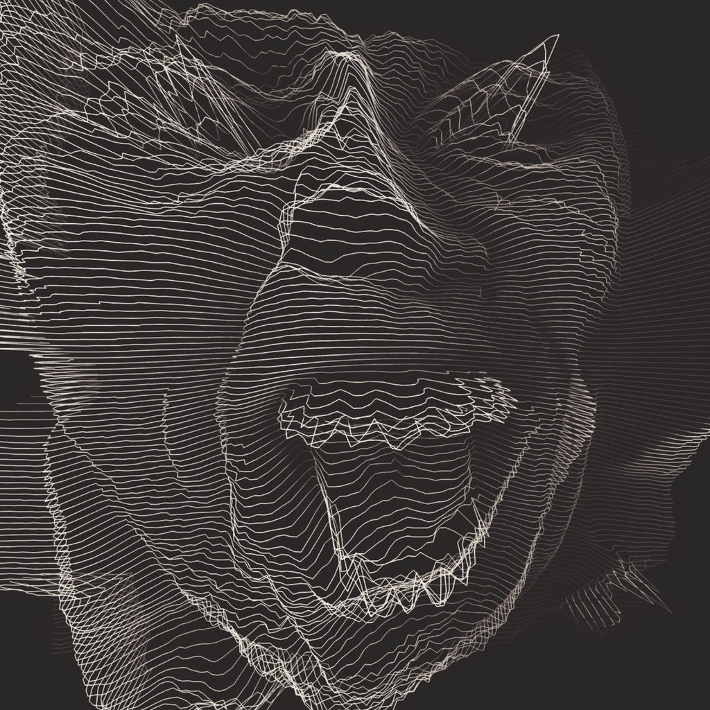 Alexandre Perotto - Digital work Black and line
