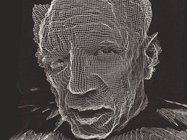 Alexandre Perotto  – Digital work Black and line 3D