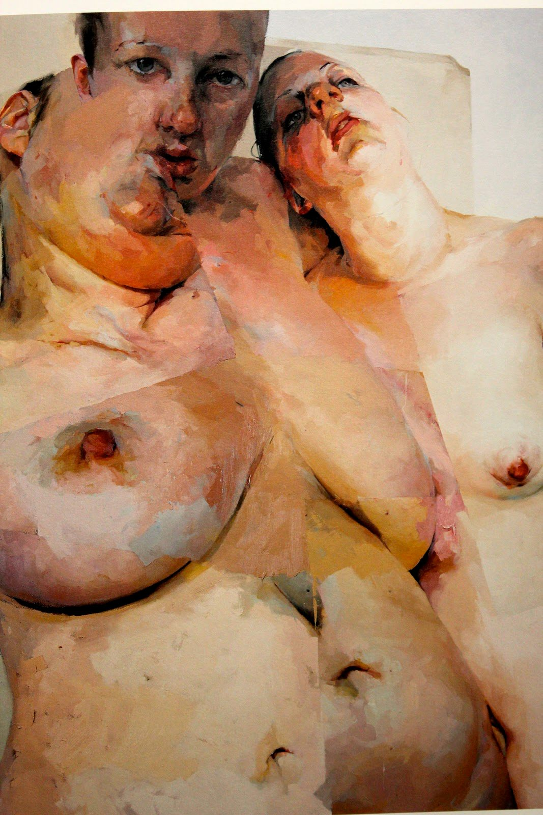 Jenny Saville – Oil on canvas