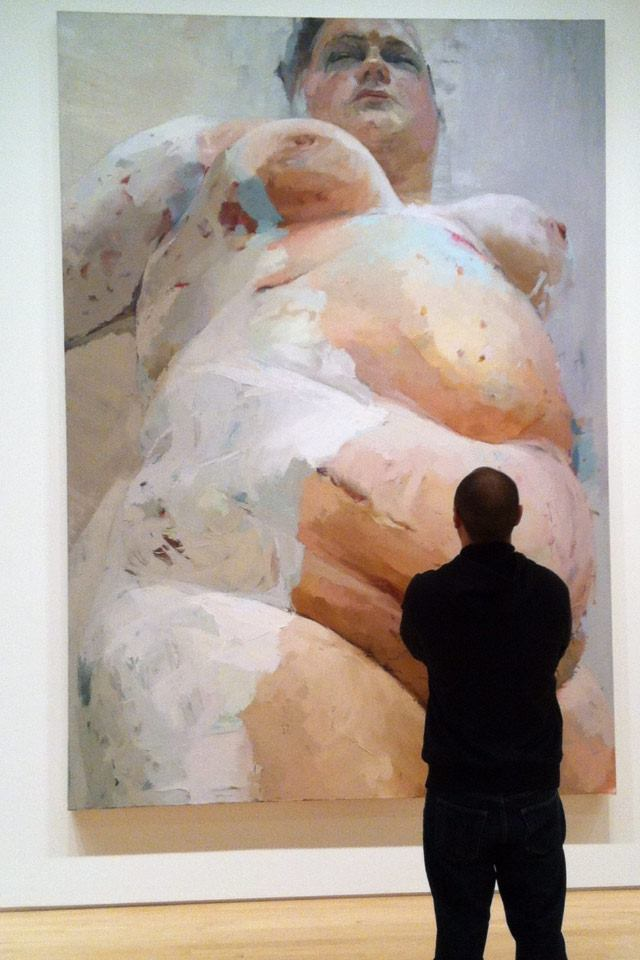 Jenny Saville – Oil on canvas
