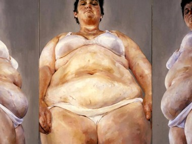 Jenny Saville – Strategy, oil on canvas