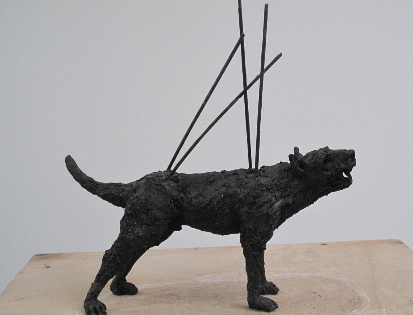 "Monica Mariniello – Sculptures ""La meute"""