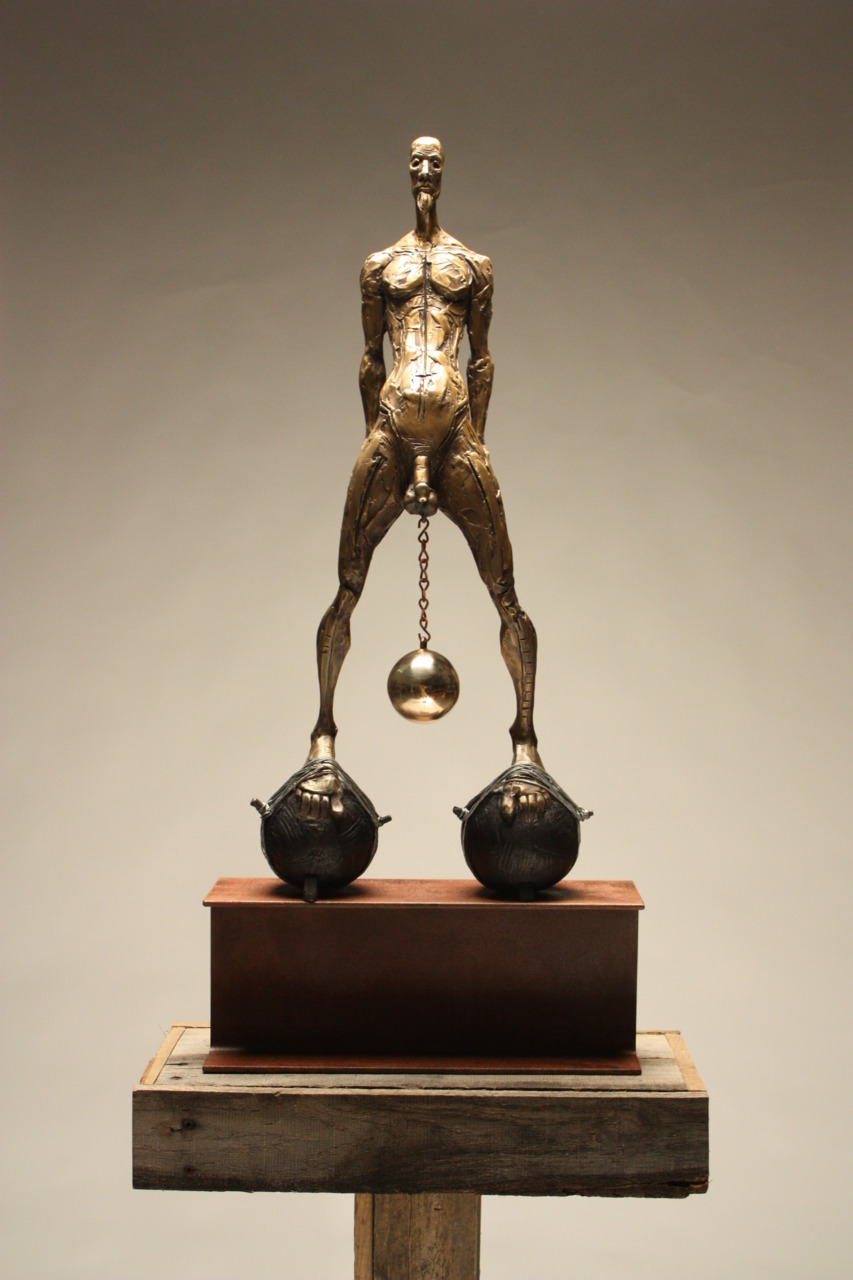 Chris Riccardo – Sculpture – Swinger