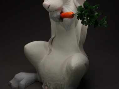 Chris Riccardo – Sculpture – The White Rabbit