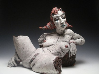 Chris Riccardo – Sculpture – White Girl