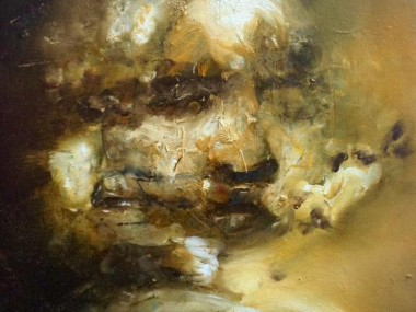 Florian Eymann – Huile sur toile 35x27cm 2016
