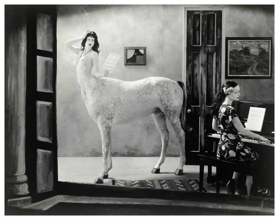Joel Peter Witkin photography – Night in a small town