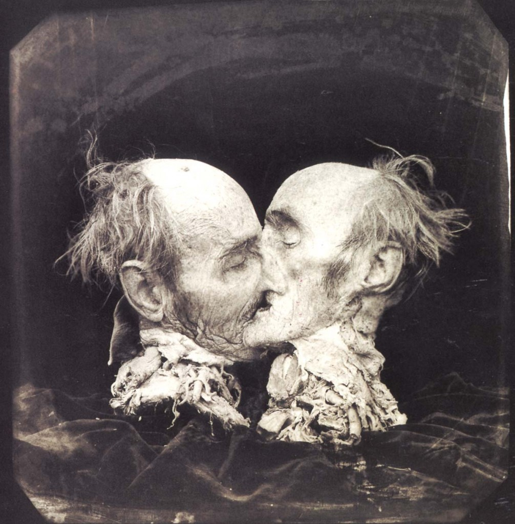 Joel Peter Witkin photography - Le baiser
