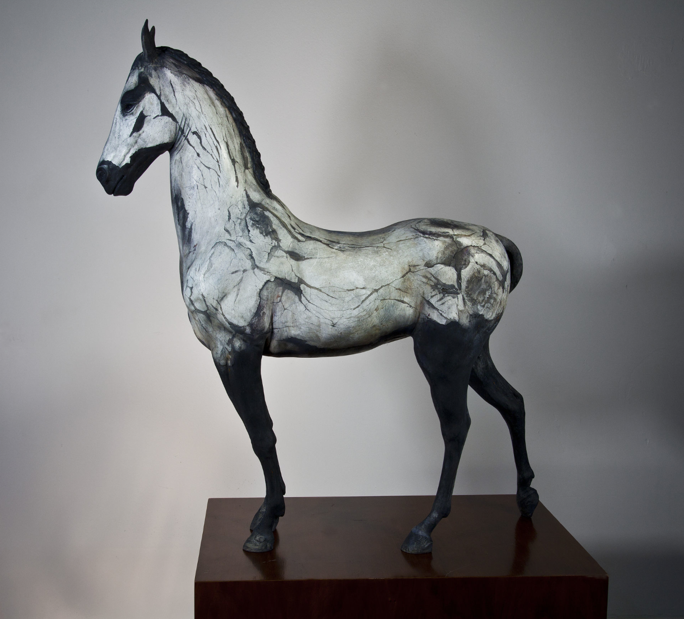 Neil Clifford – Spirit Within – Sculpture – Plaster on Stainless Steel