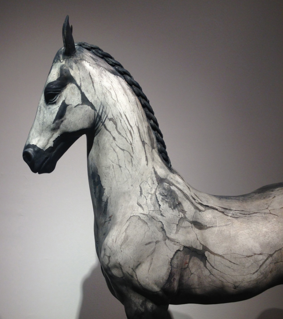 Neil Clifford - Spirit Within - Sculpture - Plaster on Stainless Steel detail