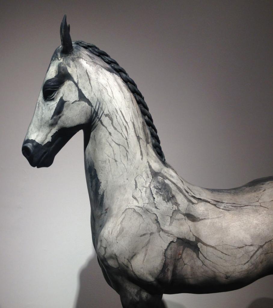 Neil Clifford - Spirit Within - Sculpture - Plaster on Stainless Steel detail
