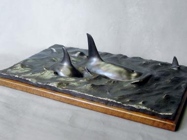 Neil Clifford – sculpture bronze – Desolation sound