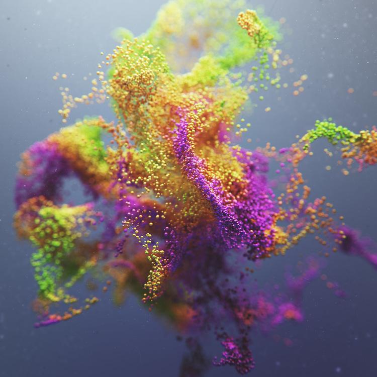 Joey Camacho -3D artwork – Sherbert